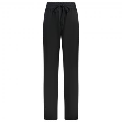 Hose mit weitem Beinverlauf schwarz (099 black) | 36