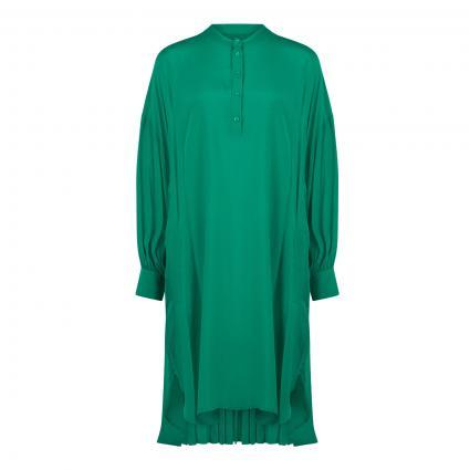 Oversize-Kleid 'Alini' mit Plissee-Details grün (GREEN MACHINE GM12)   M