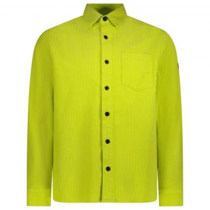 Hemd mit aufgesetzter Brusttasche gelb (202 Yellow) | M