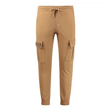 Sweatpants 'Terry' im Cargo-Style beige (13 khaki) | S