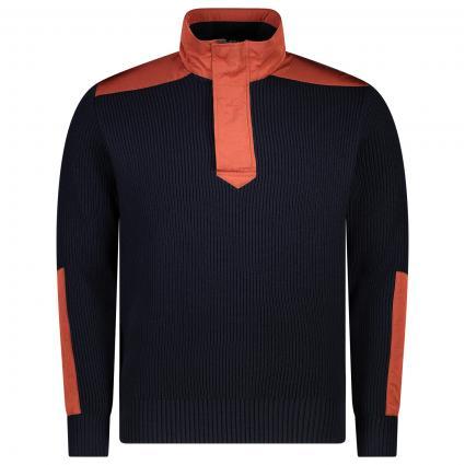 Troyer im Material-Mix orange (625 Orange)   L