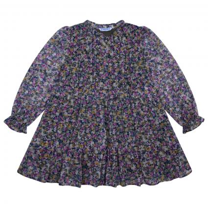 Kleid mit All-Over Print-Muster flieder (026 LILAC) | 98