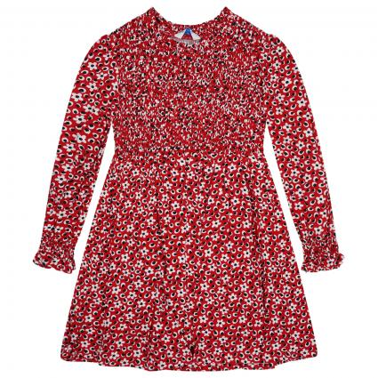Kleid mit Spannendem All-Over Muster rot (087 RED) | 104