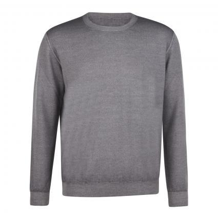 Pullover mit Rundhalsausschnitt grau (920 lt grey) | 46