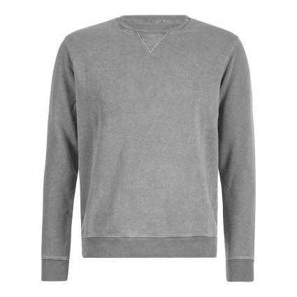 Sweatshirt mit Wording-Print grau (934 Grey)   L