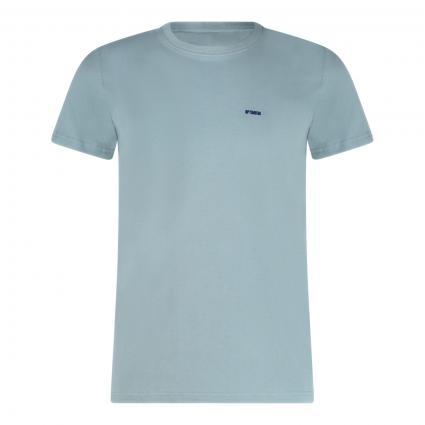 T-Shirt 'The Optimist' mit Rundhalsausschnitt blau (5200 stoneblue)   L