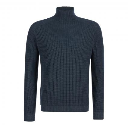 Pullover aus reiner Merinowolle blau (940 grau blau) | 50
