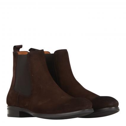 Chelsea-Boots aus Leder braun (cacao)   43 1/2