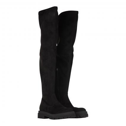Stiefel 'Shade' aus Veloursleder schwarz (570 BLACK VELLUTO) | 5