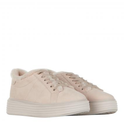 Sneaker 'Wonder' mit Lammfell-Futter beige (654 SOFT NUBUK DESER) | 6