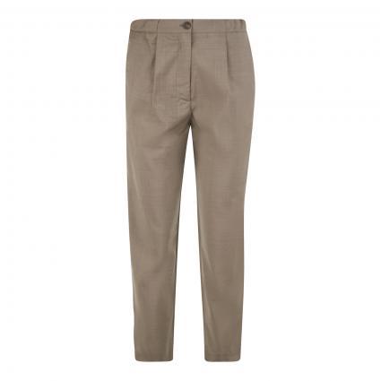 Hose mit elastischem Bund beige (CORDE CHINE) | L