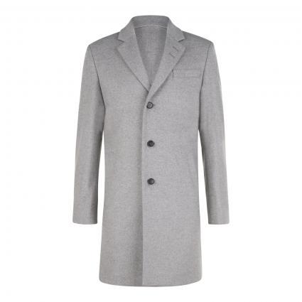 Kurzmantel 'Cempsey' aus Wolle-Mix grau (M04 light grey)   44