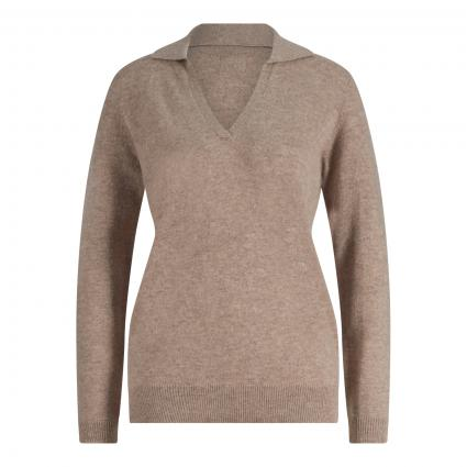 Pullover aus Cashmere taupe (taupe mel.)   44