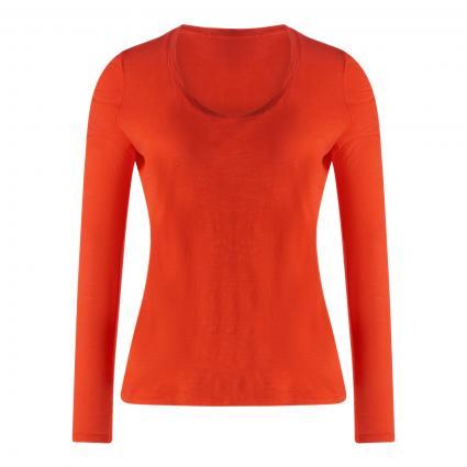 Langarmshirt mit Rundhalsausschnitt  orange (ORANGE VINTA) | L