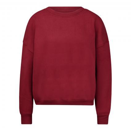 Cropped Sweatshirt mit Rundhalsausschnitt  beere (BAIE)   L