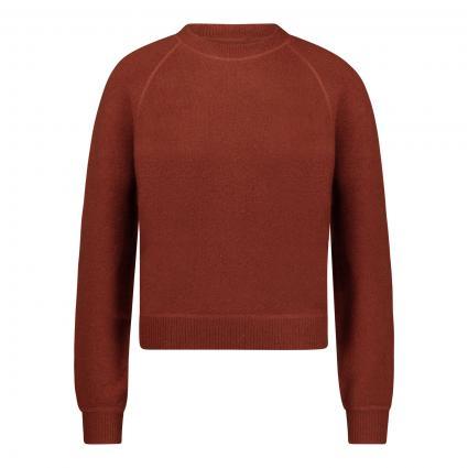 Pullover mit Rundhalsausschnitt  braun (AUBURN)   S