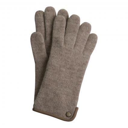 Handschuhe 'Klassische Walkhands' aus Schurwolle divers (118 MINK) | 7,5