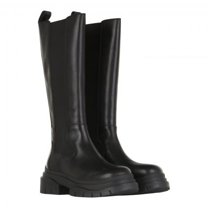Stiefel aus Leder schwarz (COMBO A: MUSTANG BLA)   37