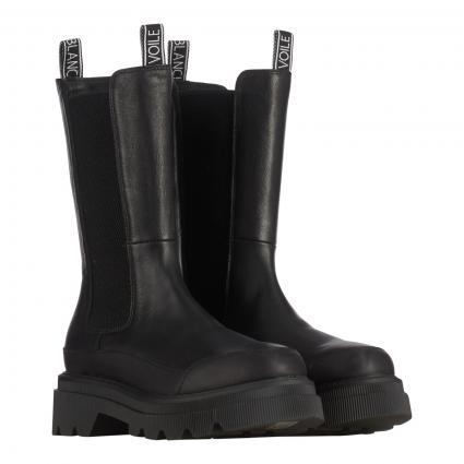 Stiefel 'Melba' aus Leder schwarz (BLACK)   38