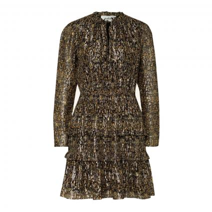 Kleid 'Glen' mit Schimmer-Effekt oliv (KAKI)   34