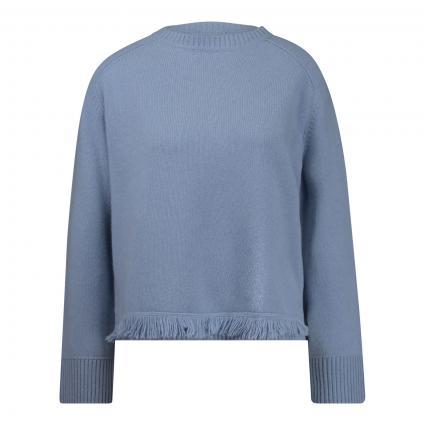 Pullover aus Cashmere blau (314 opalblau)   M