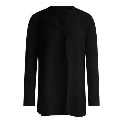 Fließende Bluse  schwarz (900 black)   42