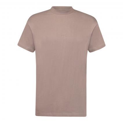 T-Shirt 'Daylen' mit Label-Stickerei braun (8477 rails)   S
