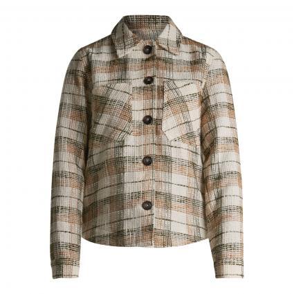 Blazer 'Luca Althea' im Overshirt-Stil oliv (507 GRAPE LEAF) | 42