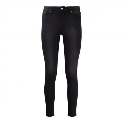 Highwaist-Jeans 'Ania' grau (901 VINTAGE BLACK) | 26