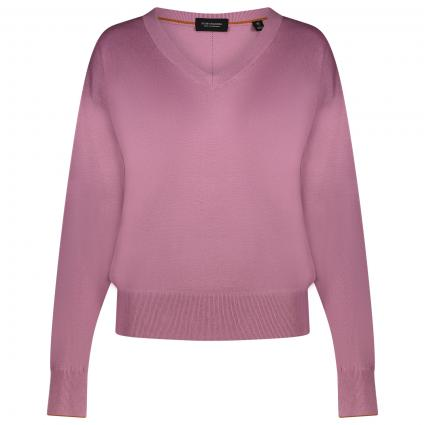 Pullover mit V-Ausschnitt  rose (1139 mauve) | S