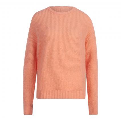 Pullover 'Rozy' mit Mohair orange (PECHE) | XS/S
