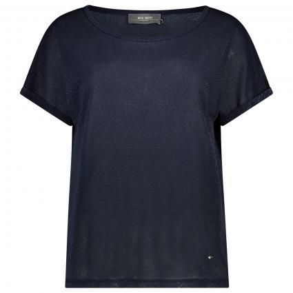 Oversize-Shirt 'Kay' mit Glitzerdetails marine (468 SALUTE NAVY)   M
