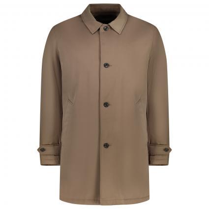Mantel mit Kragen braun (9EJDK TAUP) | XXL