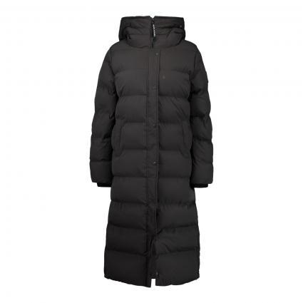 Steppmantel 'Norah' mit Kapuze schwarz (999 schwarz) | XL