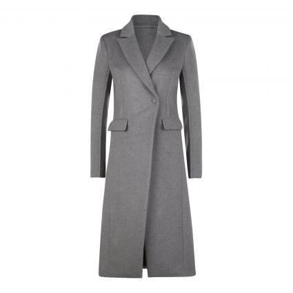Mantel aus softer Woll-Mischung grau (S263 GRIGIO CHIARO) | 38