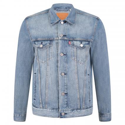 Jeansjacke mit Brusttaschen blau (0351 KILLEBREW TRUCK) | M