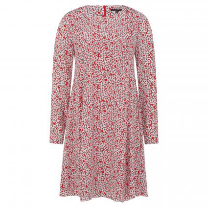 Langärmeliges Kleid mit Musterung divers (A36 combo) | 38