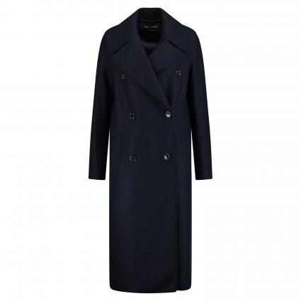 Mantel in Boiled Wool-Qualität marine (812 midnight blue) | 44