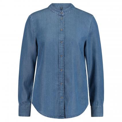 Denim Shirt, Relaxed Fit, Long Slee blau (063 soft drapy tence) | M