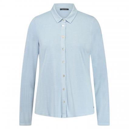 Jersey Jacke mit Knopfleiste blau (807 fresh spring sky) | XL