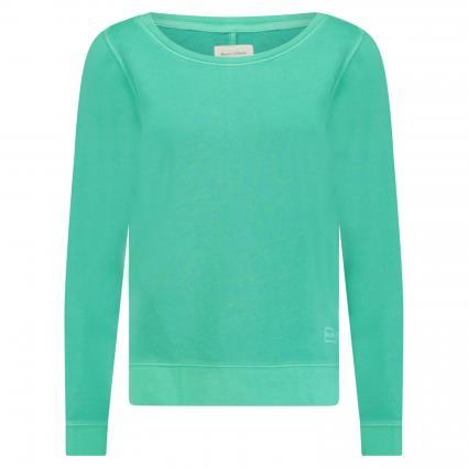 Sweatshirt mit Logo-Rückenprint grün (446 Fresh Sea) | XS