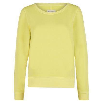 Sweatshirt aus Bio-Baumwolle grün (447 juicy lime)   L
