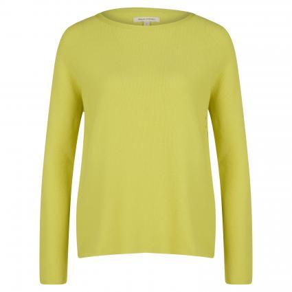 Pullover mit Strukturmuster grün (447 juicy lime) | L