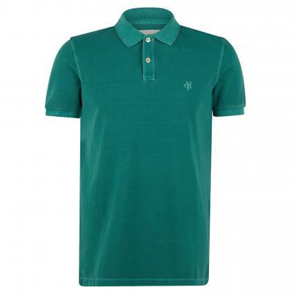 Kurzarm Poloshirt  grün (438 shady glade)   S