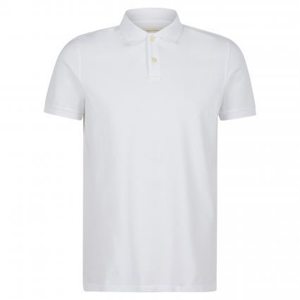 Regular-Fit Poloshirt weiss (100 white) | S