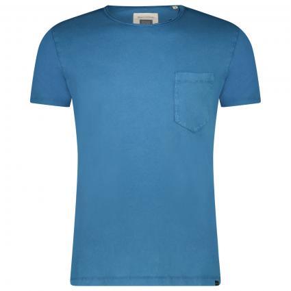 T-Shirt mit Rundhalsausschnitt  blau (840 dark blue) | XL