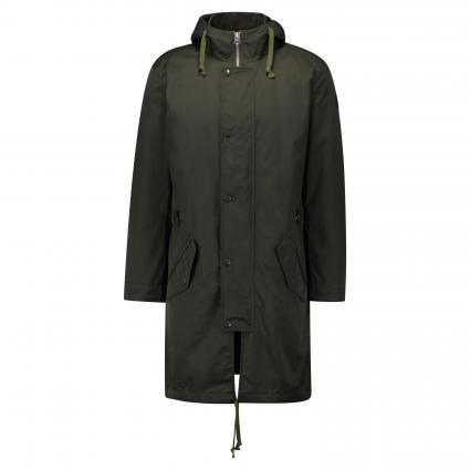 Jacke mit Kapuze oliv (474 rosin) | XL