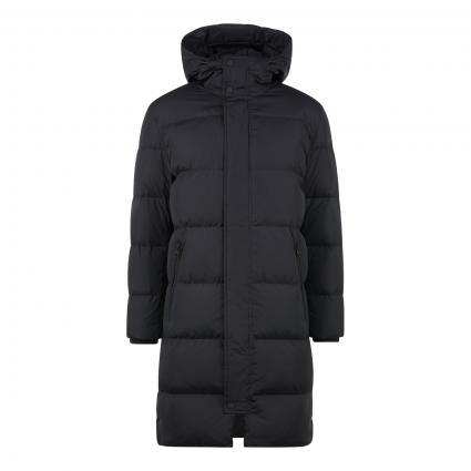 Jacke mit Daunen-Feder Füllung schwarz (990 black)   XXL