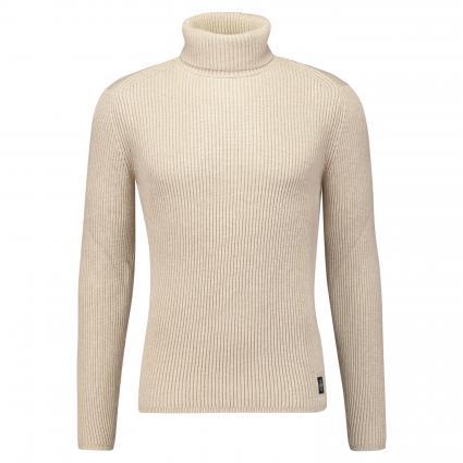 Pullover mit Turtle-Neck taupe (718 chinchilla) | L
