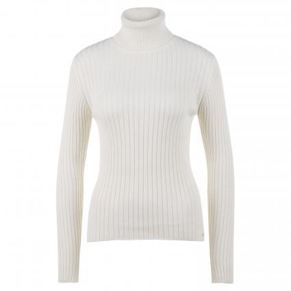 Pullover mit Rollkragen ecru (108 off white)   S